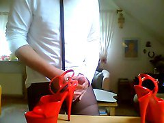 tribute to a dancers plateau high heels by a fan
