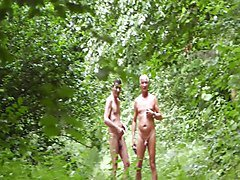 Another Men in the woods Offenbach voyeur