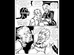 Brutal Sex BDSM Orgy Comic