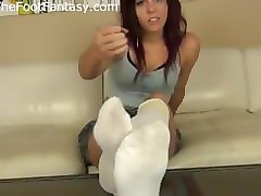 stinky white socks joi