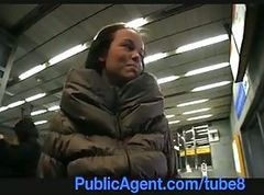 PublicAgent Short Girl gets fucked by ticket inspector