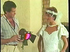 sharon mitchell  wedding dress