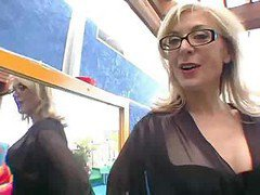 Nina Hartley Has Her First Squirt