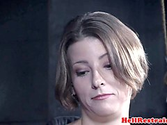 spreadeagle submissive whipped then flogged