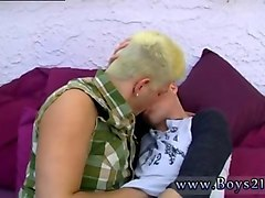 blonde gay dude gets horny and destroys his new bf