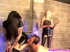 unrelenting femdoms punish submissive harshly