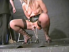 submissive crystel leis tit torments and pussy punishment