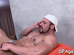 steamy hot gay massage blowjob clip 2
